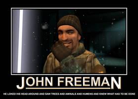 John Freeman Motivational by EspionageDB7