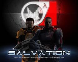 Salvation Wallpaper by EspionageDB7