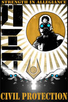 Combine Propaganda Poster by EspionageDB7