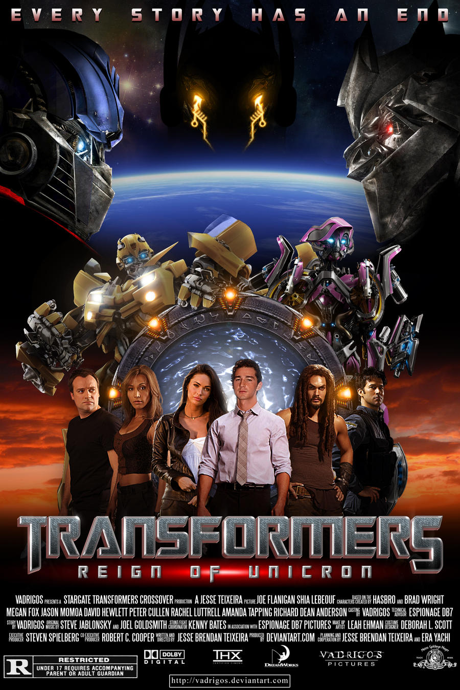 Transformers 5 Poster Transformers  reign of unicronTransformers 5 Poster