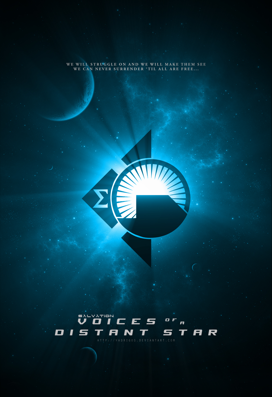 Voices of a Distant Star Teaser Poster by EspionageDB7