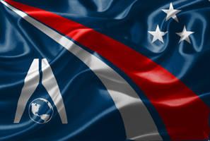 Textured Alliance Flag by EspionageDB7