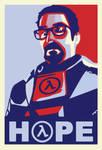 Freeman - Hope Poster