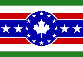 United North American States Flag by EspionageDB7