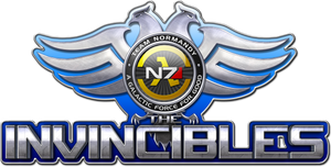 Team Normandy - The Invincibles Logo by EspionageDB7