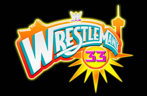 WWE Wrestlemania 33 Logo - In San Antonio Texas by EspionageDB7