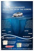 Associates Insurance Advert Poster by EspionageDB7
