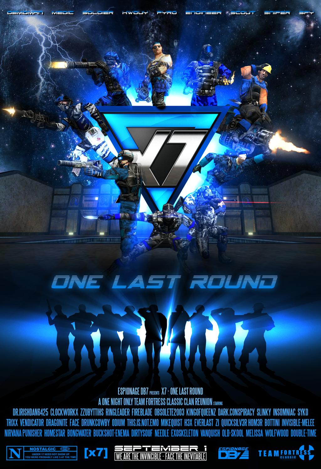 [x7] One Last Round - Movie Poster by EspionageDB7