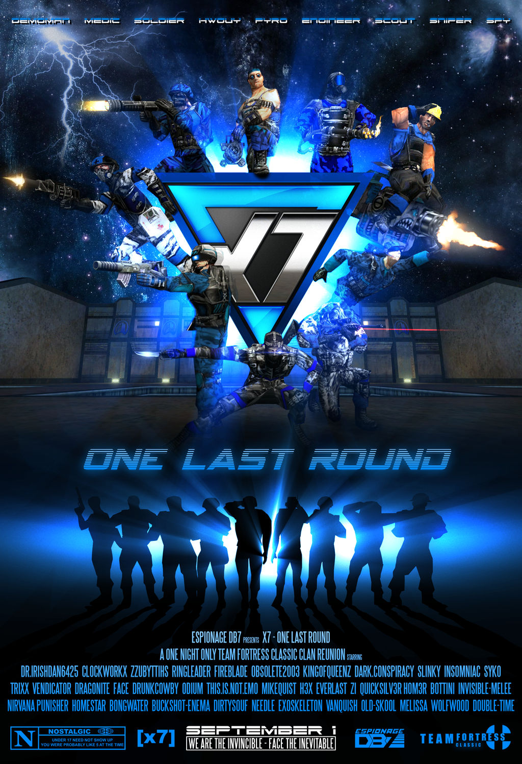 [x7] One Last Round - Movie Poster by EspionageDB7