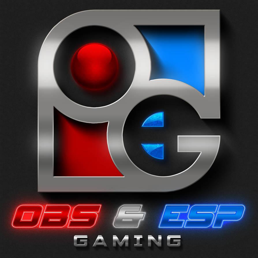 Obs and Esp Gaming - Logo by EspionageDB7