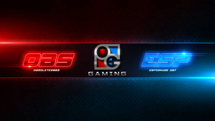 Obs and Esp Gaming - Youtube Banner