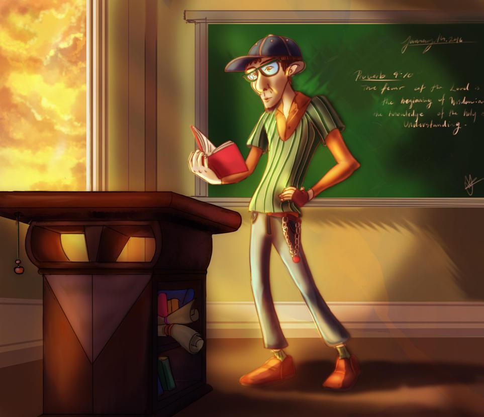 Professor by iridescencysky