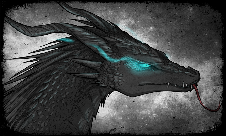 Eagle Vs Dragon Drawing Shruikan by FireEagleS...