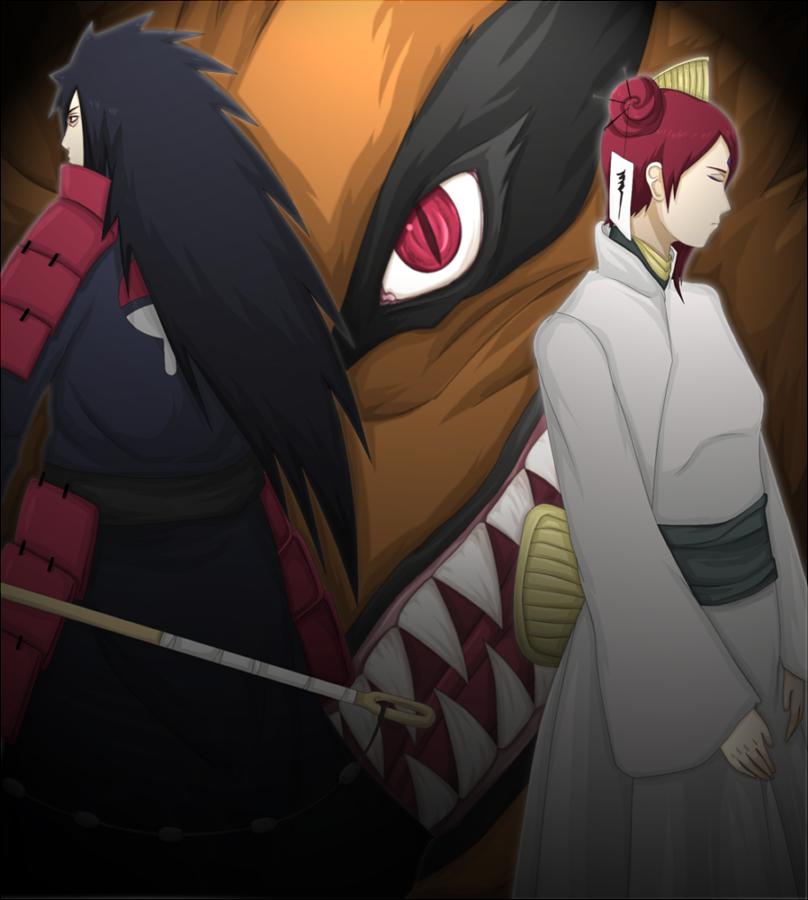 Uzumaki and Uchiha by FireEagleSpirit