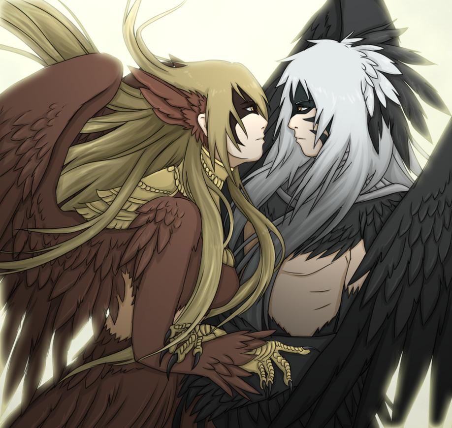 Avian love by FireEagleSpirit