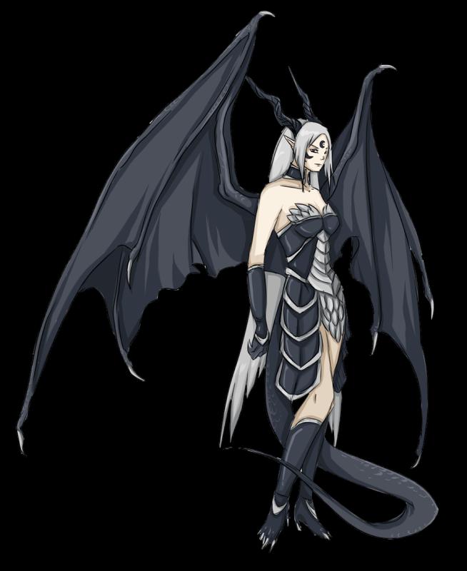 Dragoness by FireEagleSpirit