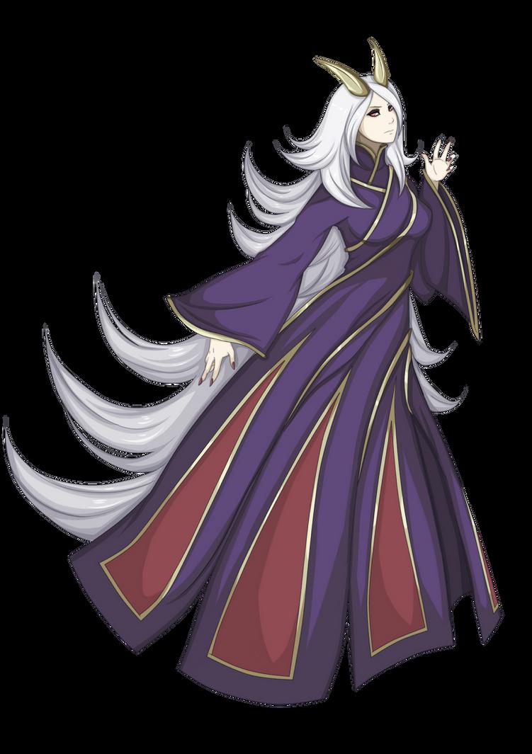 Princess Ootsusuki Kaguya by FireEagleSpirit