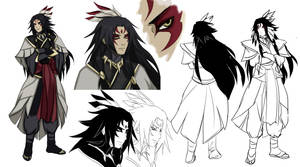 Altair character design studies