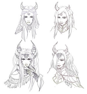 Seryndra and Kigaly concept