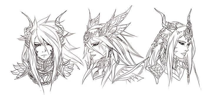 Eltanin Aquila Sindra by FireEagleSpirit