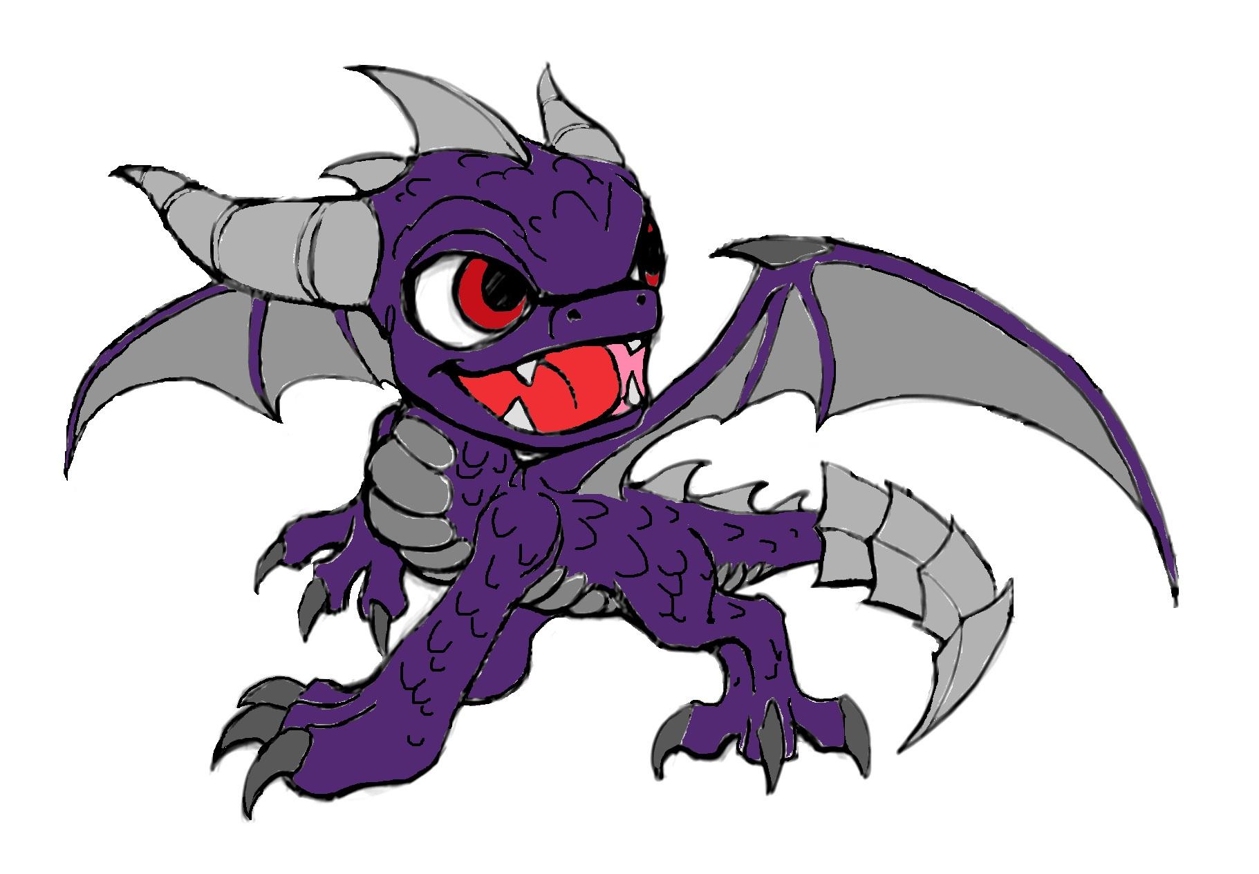 This Day Spyro Vs Dark Spyro: Dark Spyro By SkylertTH On DeviantArt