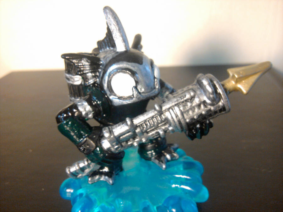 Skylanders Custom SILVER MOORISH IDOL GILL GRUNT By Dragontooth21 On