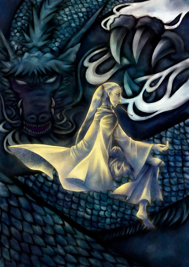 East dragon by ichi23