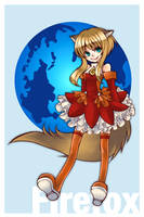 Firefox girl by ichi23