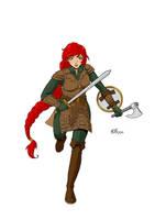 Kaitlin Lochlainn WIP by Melonie-Moon