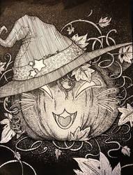Inktober Pumpkitty