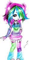 Neon by nekonekoninja