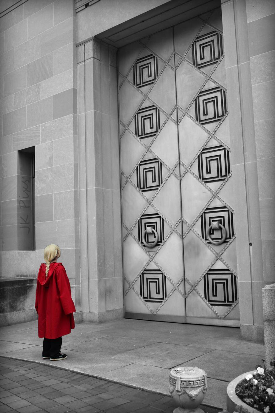 Door Of Truth by carpathianwarrior