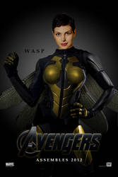 Wasp, Avengers movie teaser by iNo019