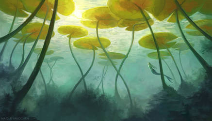 Sea Lilly (v2) by NaomiVanDoren