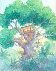 Tree Top by NaomiVanDoren
