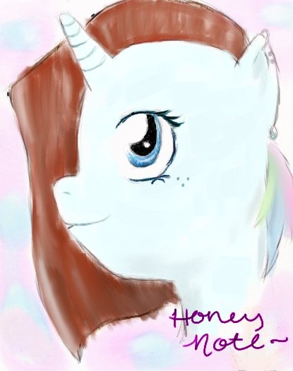 Honey Note by AzureGothBunny