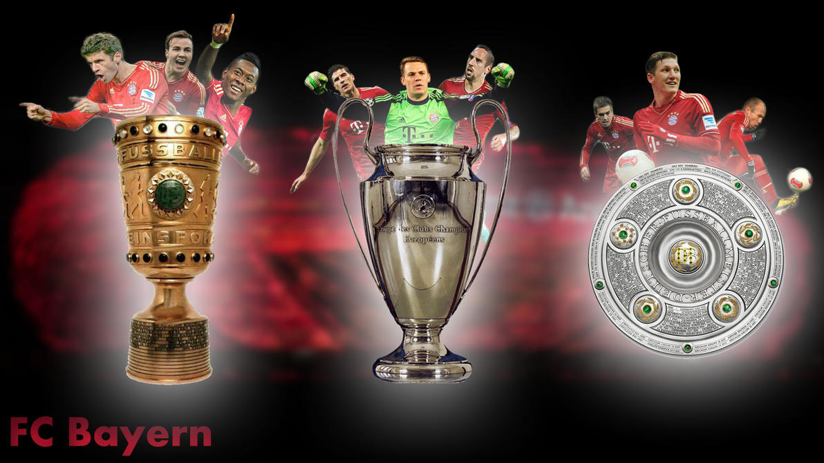 Fc bayern triple by speedupps on deviantart fc bayern triple by speedupps voltagebd