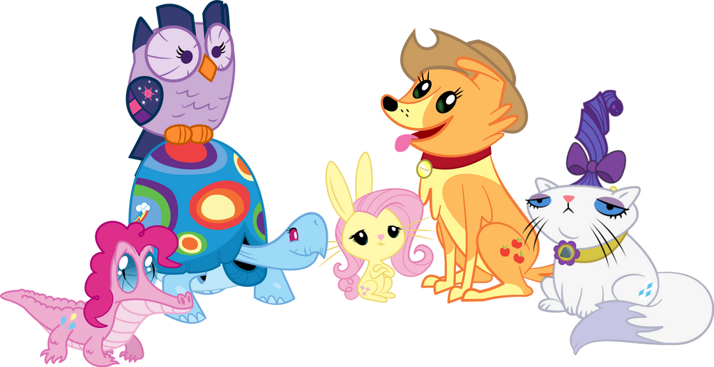 My Little Critters by Java--Jive on DeviantArt