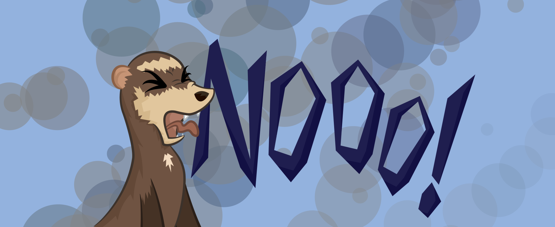 Ferret - Nooo! by Java--Jive