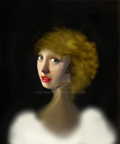 Girl with by Enyamatrix