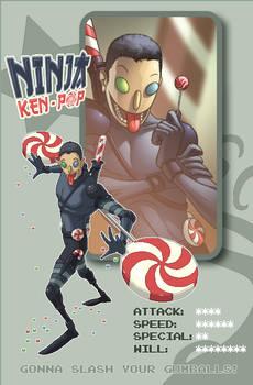 PIXEL ID Ninja Ken Pop