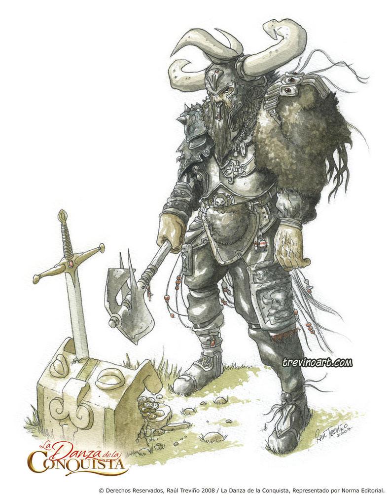 Vikingos en la danza by raultrevino