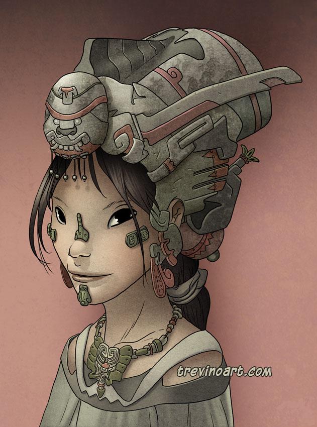 Mujer de ciudad del Sol by raultrevino