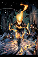 Ghost Rider:Mercy.Page9.Color by raultrevino