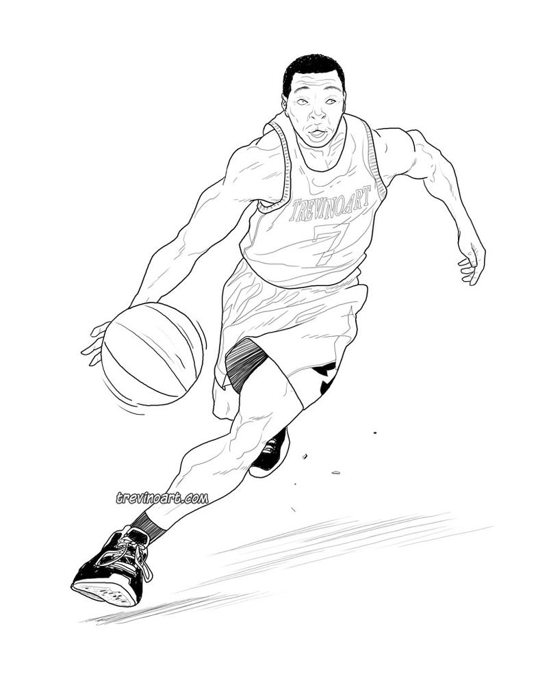 basketball by raultrevino