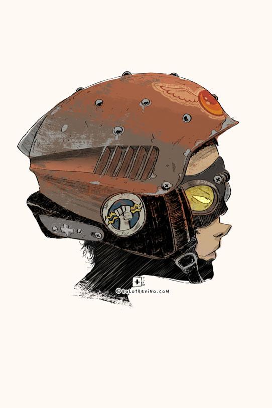 helmet.02 by raultrevino