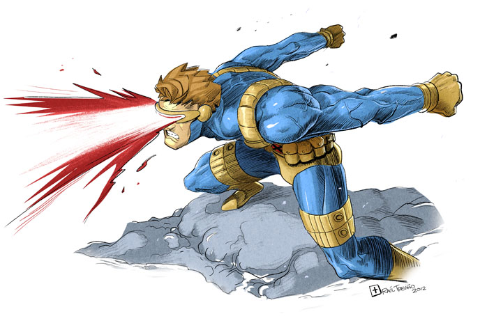 Cyclops Fanart by raultrevino