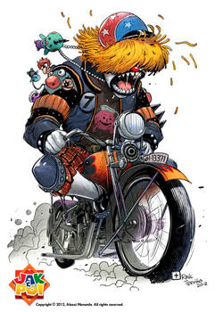 Mad Motorcyclist Commission