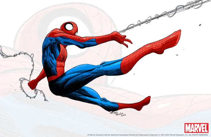 Spiderman FANART by raultrevino