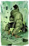 Puny God Hulk.Fantart